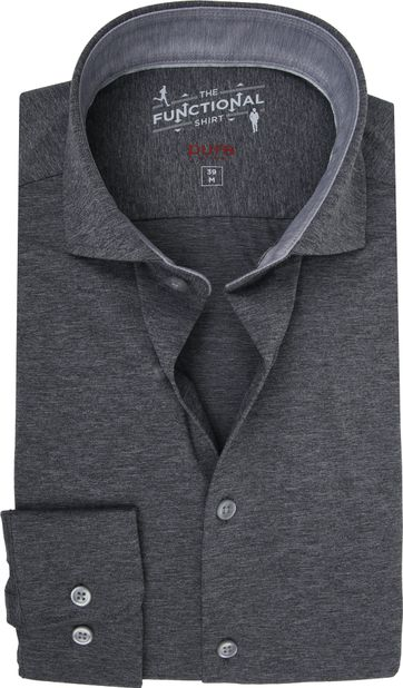 Pure H.Tico The Functional Shirt Antraciet
