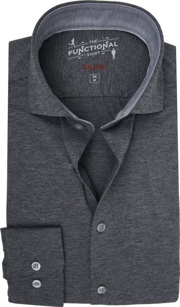 Pure H.Tico The Functional Shirt Dark Grey