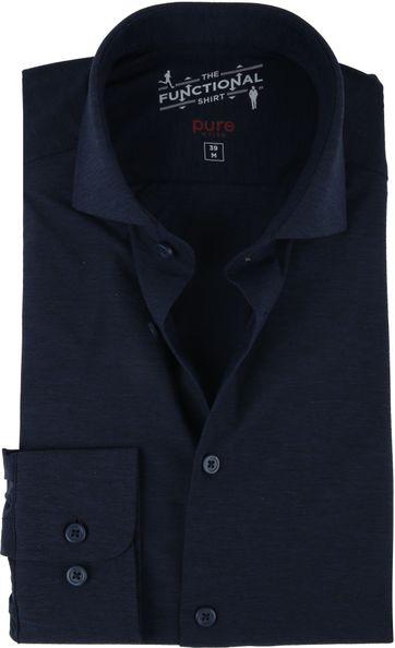 Pure H.Tico The Functional Shirt Dunkelblau