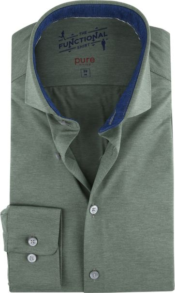 Pure H.Tico The Functional Shirt Groen