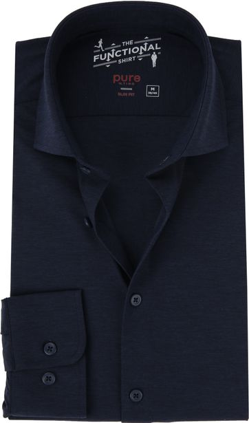 Pure The Functional Shirt Dunkelblau