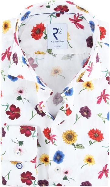R2 Overhemd Multicolour Bloemen
