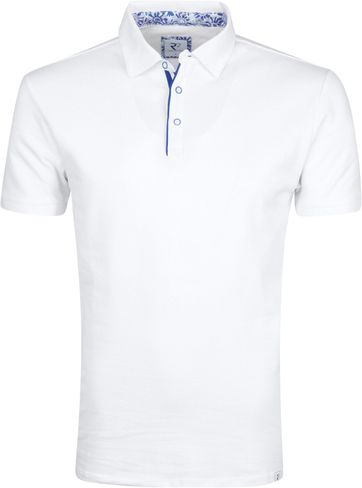 R2 Poloshirt Weiß