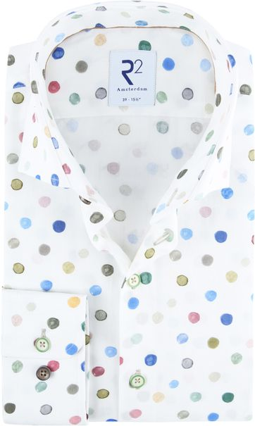 R2 Shirt Multicolour Dots