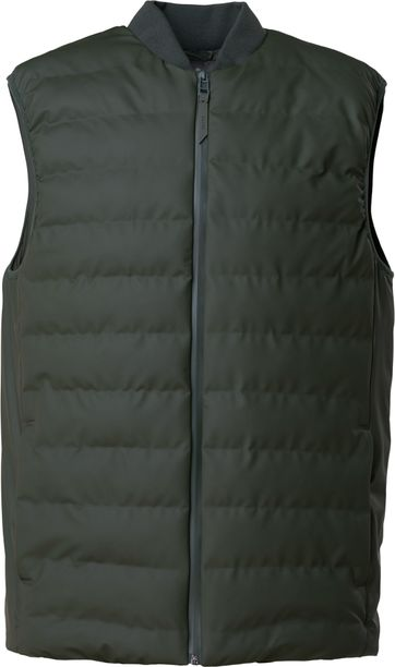 Rains Bodywarmer Trekker Dark Green