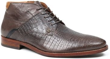 Rehab Shoe Adriano Croco Brown