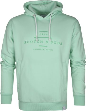 Scotch and Soda Hoodie Mint Green