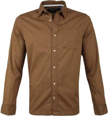 Scotch and Soda Overhemd Cognac