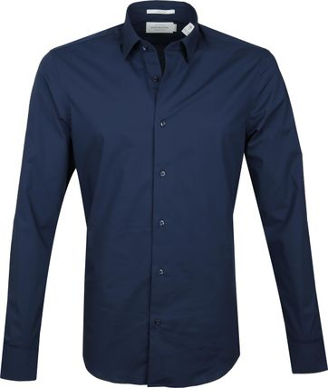 Scotch and Soda Overhemd Navy