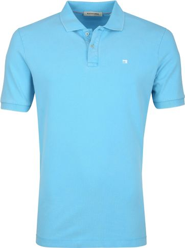 Scotch and Soda Polo Hula Blauw