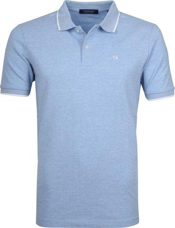 Scotch and Soda Poloshirt Blend Blau