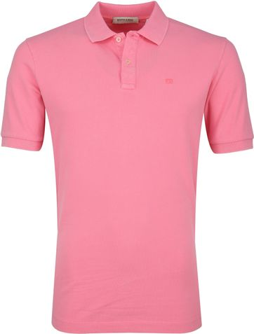 Scotch and Soda Poloshirt Hibiscus Pink