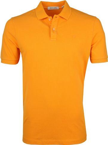 Scotch and Soda Poloshirt Naranja Orange