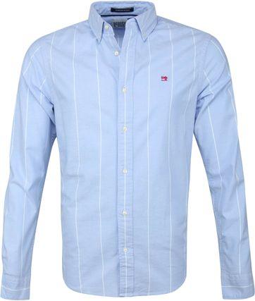 Scotch and Soda Shirt Blue Stripes