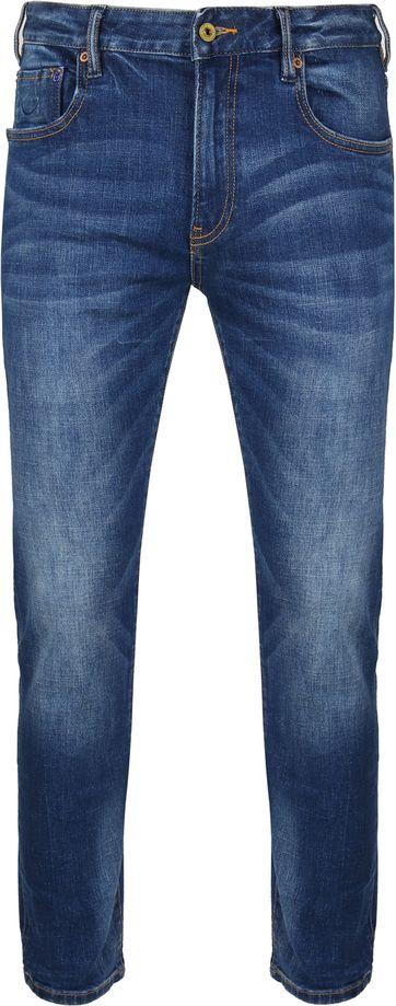 Scotch and Soda Skim Jeans Blauw
