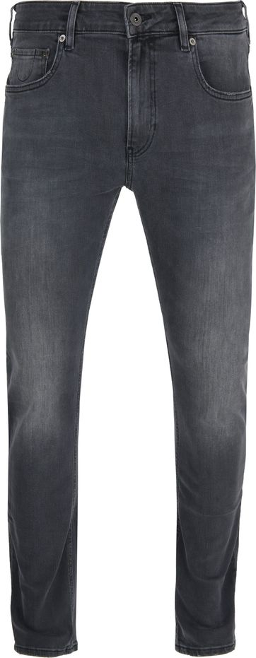 Scotch and Soda Skim Jeans Zwart