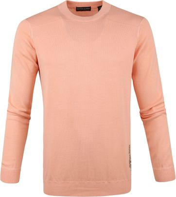 Scotch and Soda Sweater Island Paradise Orange
