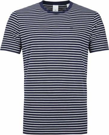 Scotch and Soda T-shirt Navy Stripes