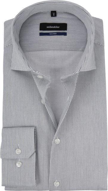 Seidensticker Grau Hemd