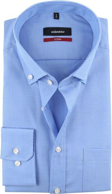 Seidensticker Hemd Blau 14