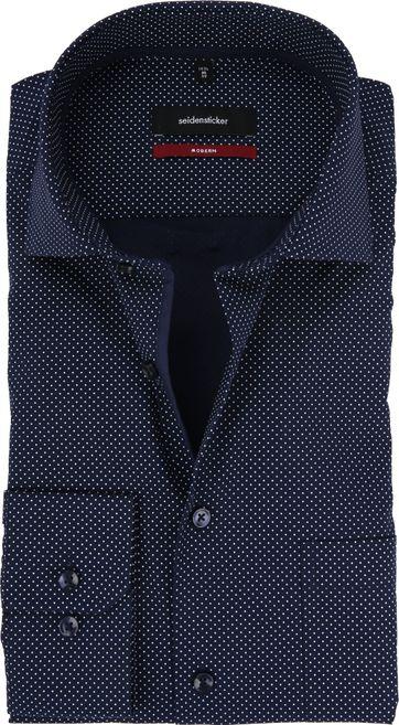 Seidensticker Hemd Dunkelblau Modern-Fit