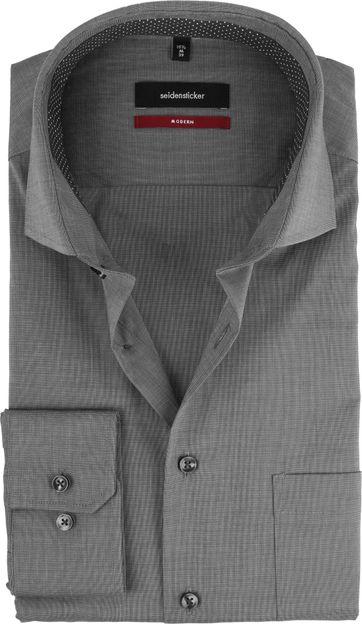 Seidensticker Hemd Grau