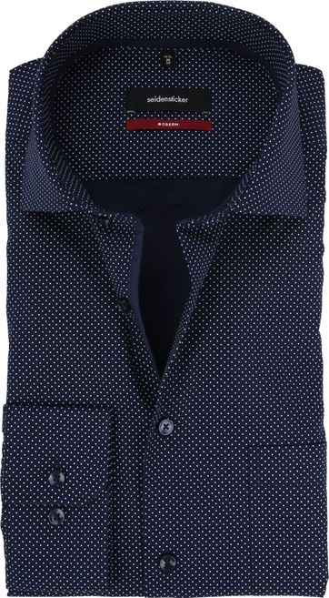 Seidensticker Modern-Fit Shirt Navy