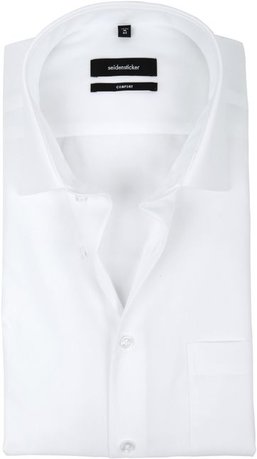 Seidensticker Non Iron Comfort-Fit White SS