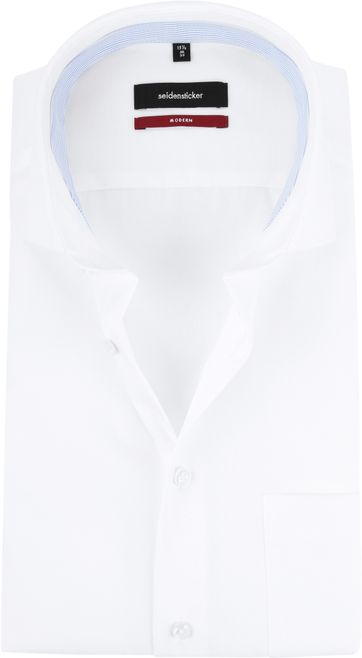 Seidensticker Non Iron Modern-Fit White