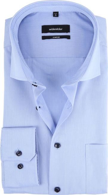 Seidensticker Overhemd CF Lichtblauw