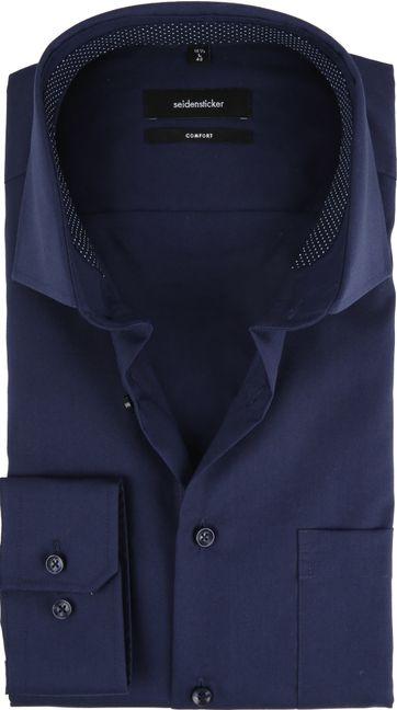 Seidensticker Overhemd CF Navy