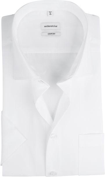 Seidensticker Overhemd Comfort-Fit Wit