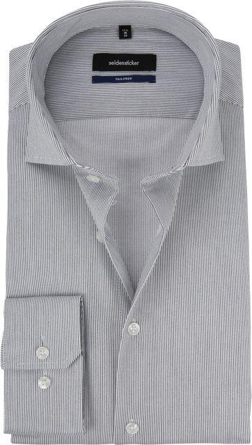 Seidensticker Overhemd Grijs