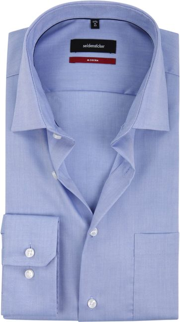 Seidensticker Overhemd MF Blauw