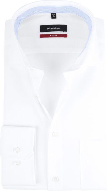 Seidensticker Overhemd Wit MF