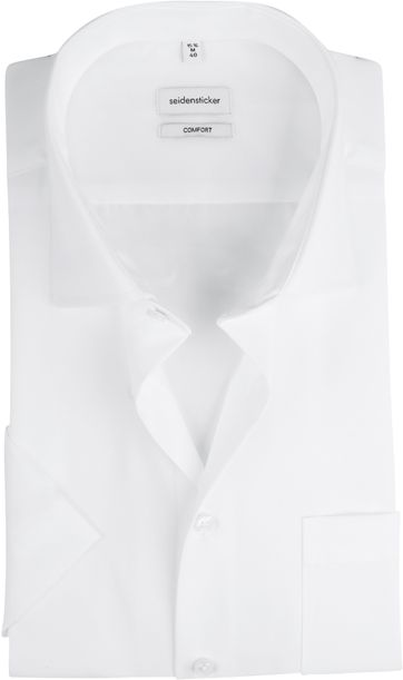 Seidensticker Shirt Comfort-Fit White