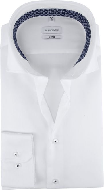 Seidensticker Shirt Shaped-Fit White