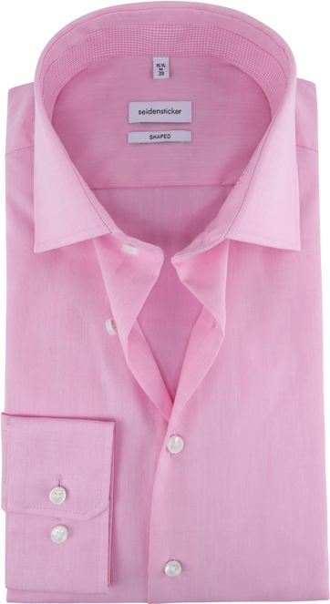 Seidensticker Shirt Shaped Pink