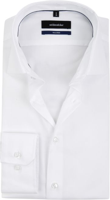 Seidensticker Shirt Tailor-Fit White