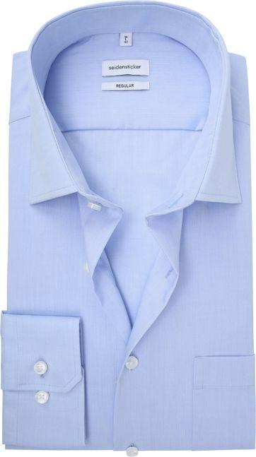 Seidensticker Splendesto Overhemd Licht Blauw