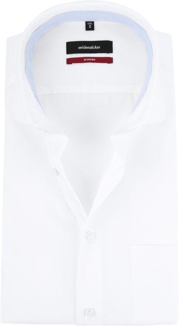 Seidensticker Strijkvrij Modern-Fit Wit