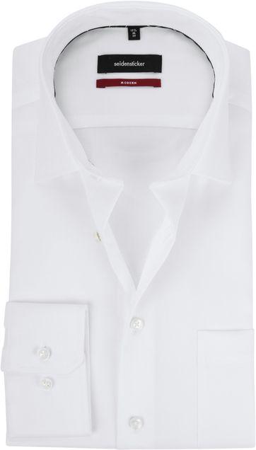 Seidensticker Strijkvrij Wit Modern-Fit