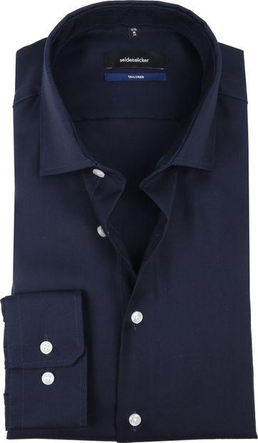 Seidensticker TF Overhemd Navy