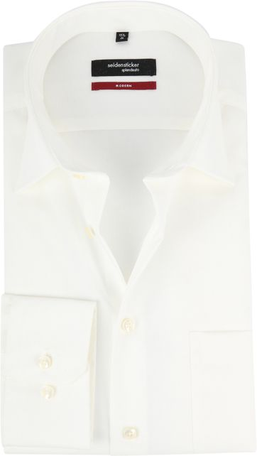 Seidensticker Wedding Shirt Ecru
