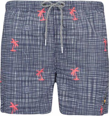 Shiwi Swimshorts Palm Checks