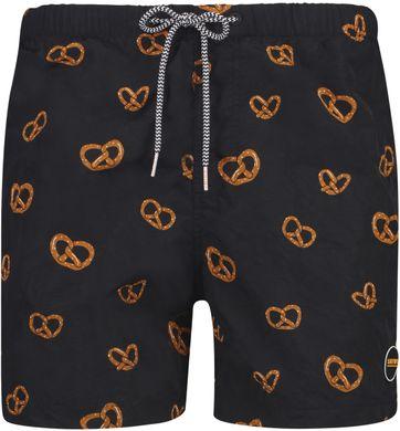 Shiwi Swimshorts Pretzel Black