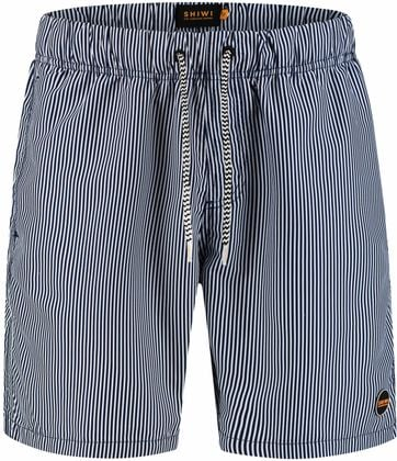 Shiwi Swimshorts Stripes Dark Blue