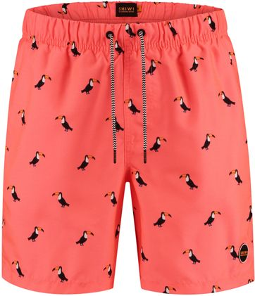 Shiwi Swimshorts Tucan Neon Orange