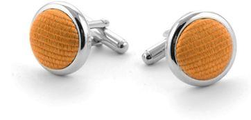 Silk Cufflinks Gold F13