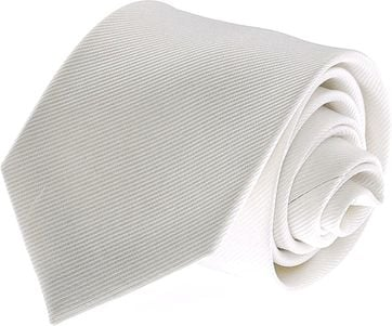 Silk Tie White F27